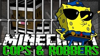Minecraft SPONGEBOB Modded Cops and Robbers