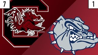 7 South Carolina vs. 1 Gonzaga Prediction | Who