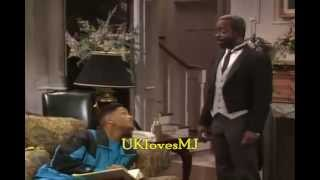 Michael Jackson Moments in The Fresh Prince & My wife and kids