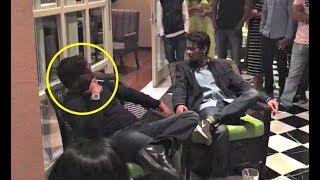 Ajay Devgan Smoking With His Baadshaho Team