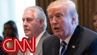 Trump addresses North Korea at cabinet meeting (full remarks)