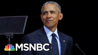 Barack Obama Takes On Donald Trump In Speech Without Ever Saying His Name | The 11th Hour | MSNBC