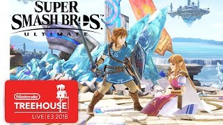 Super Smash Bros. Ultimate Character Gameplay - Nintendo Treehouse: Live   E3 2018