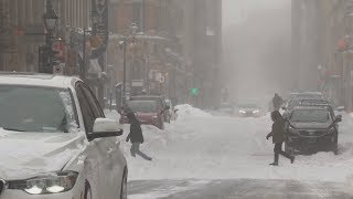 Extreme cold grips Eastern Canada