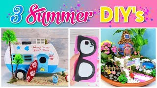 3 SUMMER Crafts To Do When You