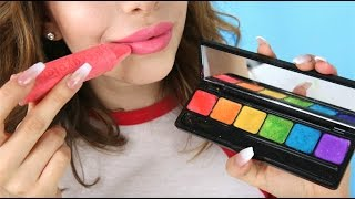5 Ways To Turn Chalk Into Makeup!