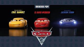 Cars 3: presentación de personajes.