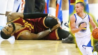 Stephen Curry Breaks Kyrie Irving Ankles! Stephen Curry Drops Kyrie Irving! PARODY