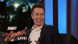 Sam Rockwell on Being the Favorite to Win Oscar