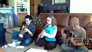 """Star Wars """"Cantina Band"""" Song - The JC Jazz Crew"""