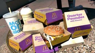 10 Quarter Pounders  & a Shake (McDonald