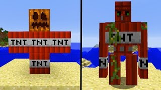 35 neue Minecraft Golems! - Extra Golems Minecraft MOD