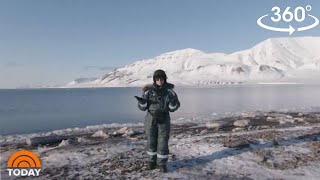 Watch Dylan Dreyer Tour The Arctic In 360 Degrees | TODAY