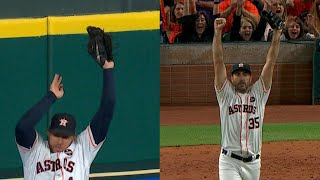 ALCS Gm6: Springer makes a great leaping grab
