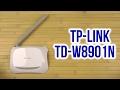 Распаковка TP-LINK TD-W8901Nmp3