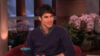 Darren Criss Sings for Ellen!