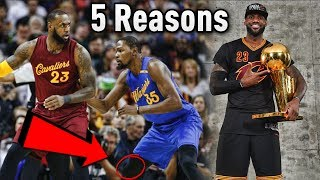 5 Reasons Why The Cleveland Cavaliers WILL WIN the NBA FINALS!!