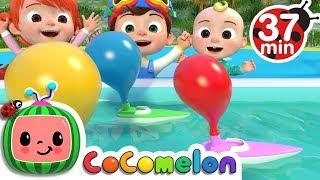 Balloon Boat Race   +More Nursery Rhymes & Kids Songs - ABCkidTV