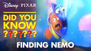 Fun Facts & Easter Eggs From Finding Nemo | Pixar Did You Know? by Disney•Pixar