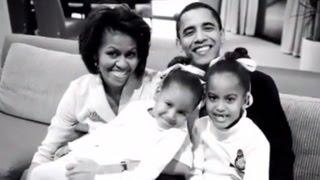 Obama Farewell Address: Where was Sasha Obama?