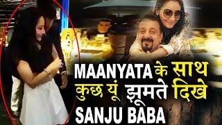 Sanjay Dutt and Manyatta Awesome dance video goes viral!