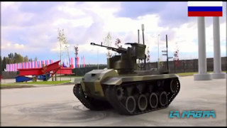New Russian Combat Robot Nerehta - Нерехта for Russian Army. PART-1