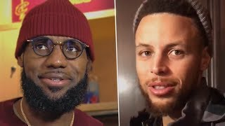 LeBron, Curry React To Being The FIRST Ever All Star Captains, DeRozan and more...