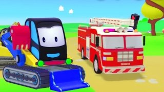 Lern mit Feuerwehrautos – Zeem Zoom auf Deutsch – Lehrreiche Cartoons für Kleinkinder