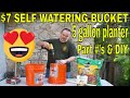 $7 Dollar Self Watering Bucket - DIY How...mp3