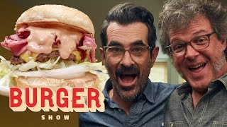 Ty Burrell Taste-Tests Classic Regional Burger Styles | The Burger Show