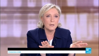 """Marine Le Pen to Macron: """"Security and terrorism are totally absent from your program!"""""""