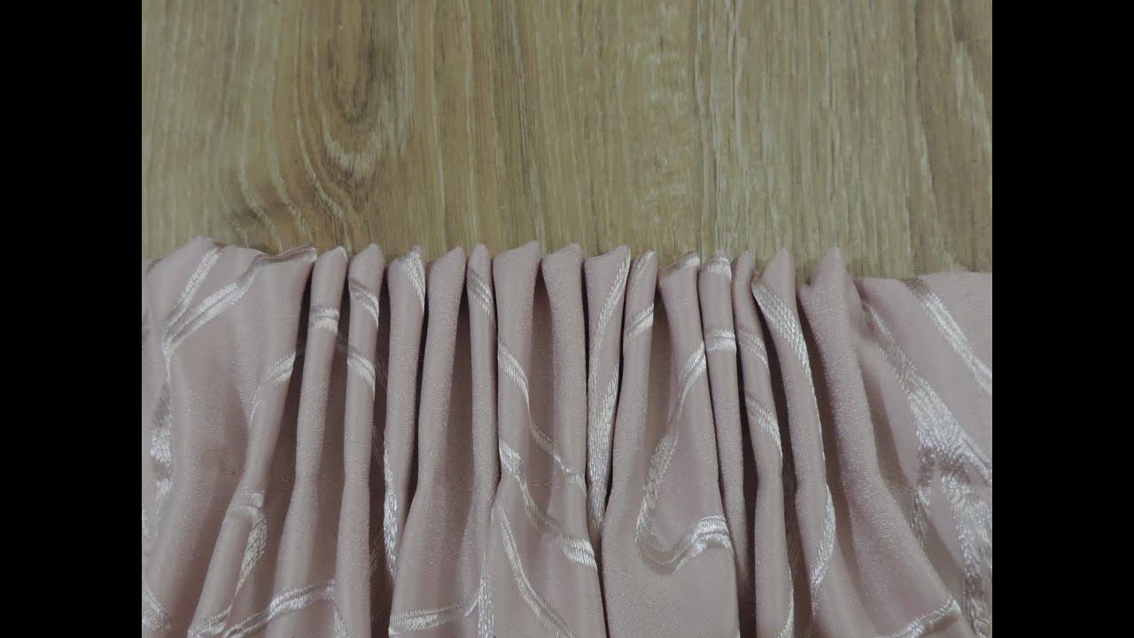 Подшиваем шторы своими руками