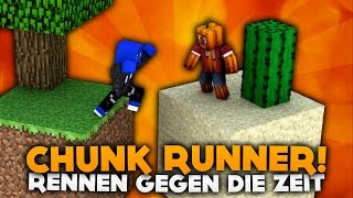 RENNEN GEGEN DIE ZEIT! CHUNK RUNNER! | DieBuddiesZocken