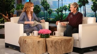 Florence Welch on the Ellen Degeneres Show Interview 2015