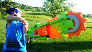Nerf War: Brainsaw Mayhem