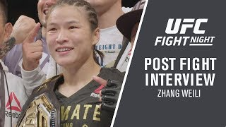 """UFC Shenzhen: Zhang Weili - """"I Knew I'd Be The First Chinese Champ"""""""
