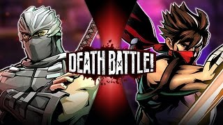 Ryu Hayabusa VS Strider Hiryu | DEATH BATTLE!