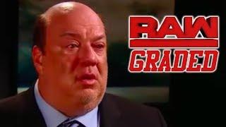 WWE Raw: GRADED (6 August) Paul Heyman