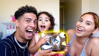 ELLE FOUND THE DIAMOND PLAY BUTTON!!! **OMG IT