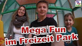 MEGA FUN IM TRAMPOLINO Teil 2 Indoor Spielplatz Freizeitpark Fußball Vlog TipTapTube