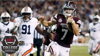 Mississippi State takes down No. 8 Auburn | CFB Highlights