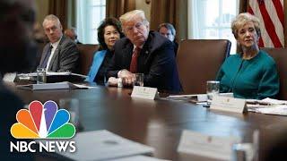 President Trump Asks Cabinet Secretaries To Cut 5 Percent Of Their Department Budgets | NBC News