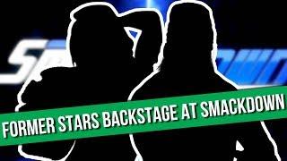 Two Former WWE Superstars Backstage At SmackDown Live