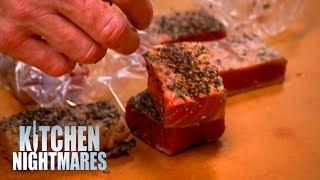 Gordon Shows Customers DISGUSTING KITCHEN   Kitchen Nightmares
