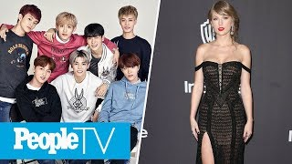 Taylor Swift Rocks New Pink Dip-Dyed Hair In NYC, K-pop Group NCT 127 Joins Us LIVE | PeopleTV