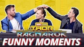 Thor: Ragnarok Cast - Best Funny Moments