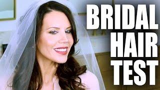MY WEDDING HAIR  | Tati and James Wedding