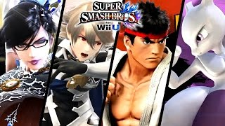 Super Smash Bros ALL DLC Character Trailers - Bayonetta, Corrin & More (Wii U, 3DS)