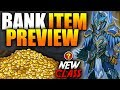 Bank Items Preview! New Class? AQWmp3