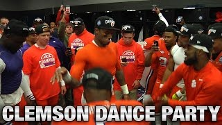 Clemson Football: Deshaun Watson & Teammates Locker Room Dance Party